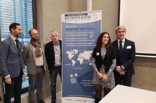 EU-TEXTILE2030 i TEX4IM signen un acord de col·laboració per enfortir la cooperació entre els clústers tèxtils d'Europa