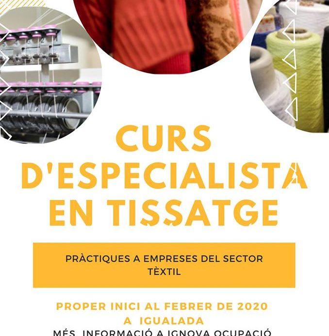 CURS D'ESPECIALISTA EN TISSATGE
